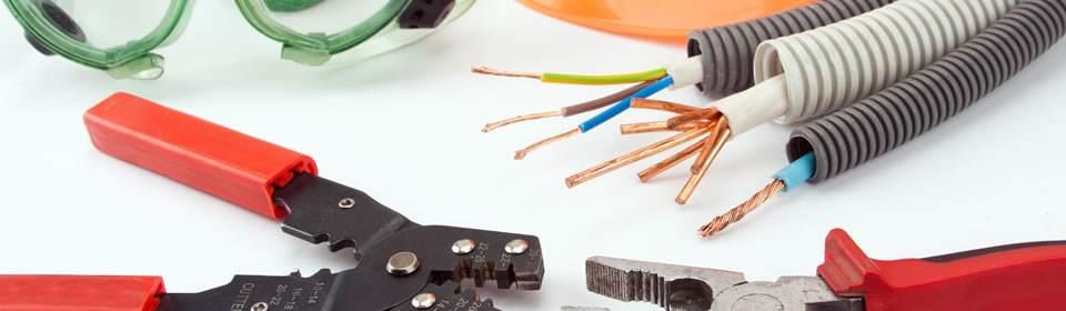 Gereedschappen van elektricien